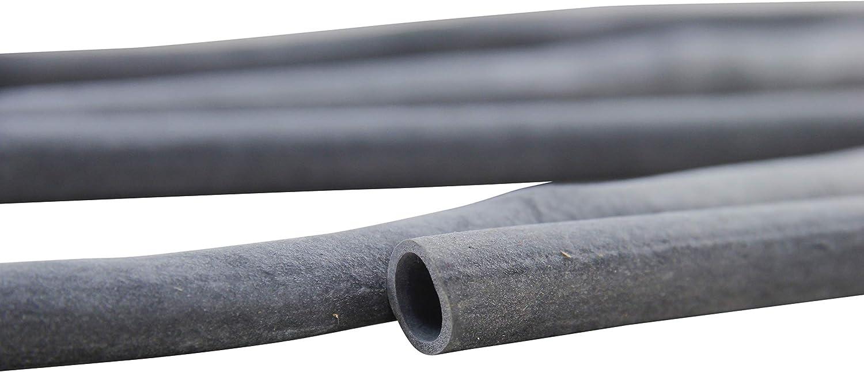 1 kg ** Gummischlauch schwarz 80/% Kautschuk 10 x 1,2 mm ** Verpackungseinheit