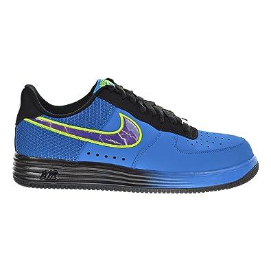hot sale online 57545 59f64 Nike Lunar Force 1 LTHR Men s Shoes Photo Blue Court Purple Black 580383-