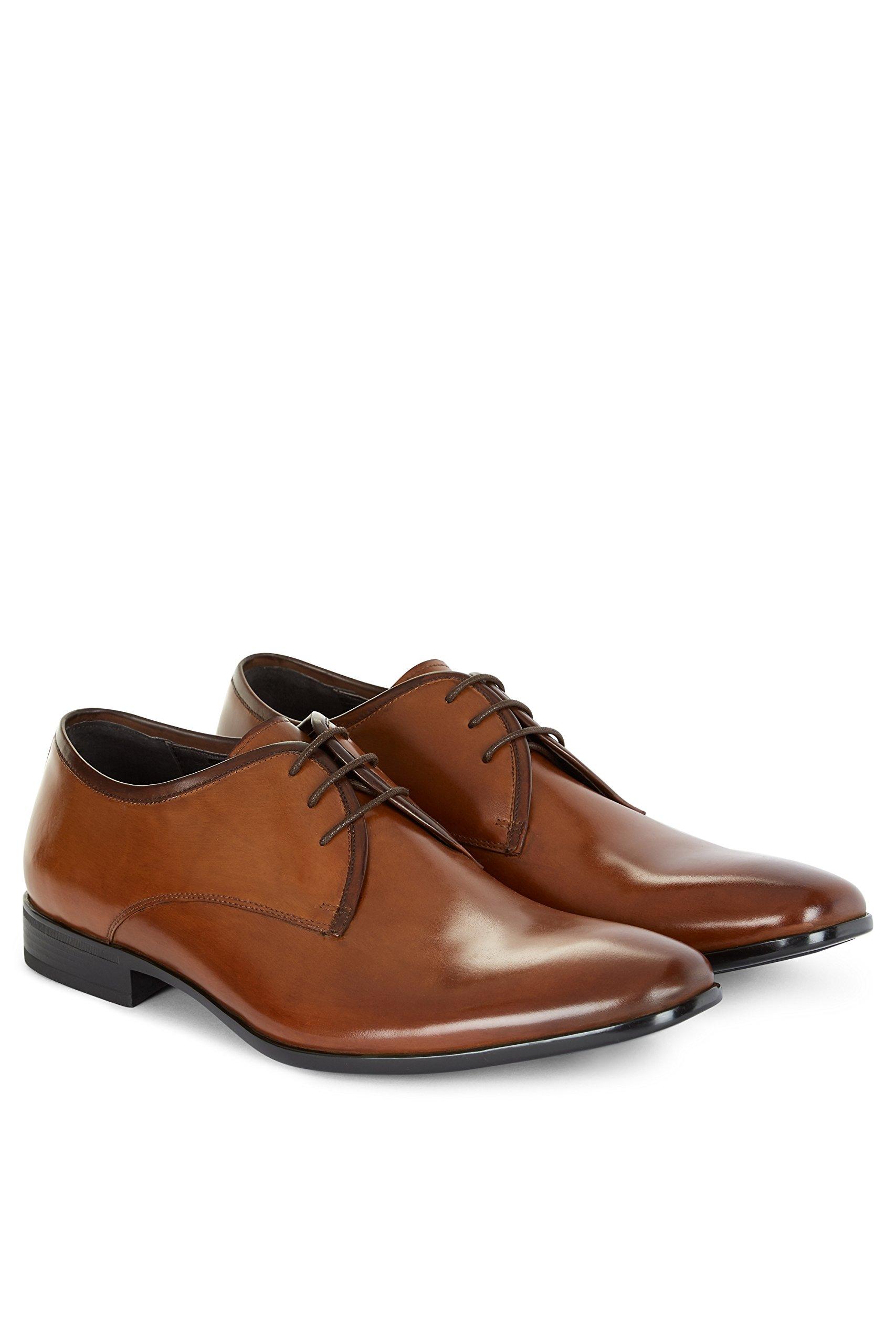 John White Men's Cadogan Tan Derby Shoes 11.5 by John White