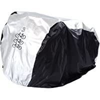 FunYoung Fietshoes waterdicht polyester fietshoes fietsgarage zilver zwart