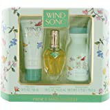 Wind Song by Prince Matchabelli for Women 3 Piece Set Includes: 0.55 oz Cologne Spray + 1.9 oz Body Lotion + 2.7 oz Dusting Powder