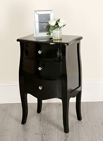 abreo black shabby chic console side table french bedroom hallway 2 rh amazon co uk