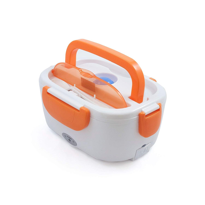 Tartera Elé ctrica para Coche Naranja, 1,05 L, 40 W