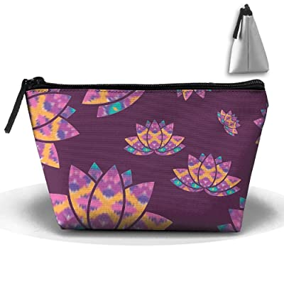 Elephant And Lotus Sports Gym Bag with Shoes Compartment Travel Duffel Bag for Men and Women