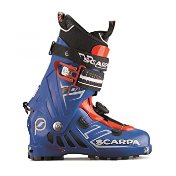 Scarpa Chaussures De Ski  F1 Evo Cl Speed Blue Bleu nuit - Livraison Gratuite avec - Chaussures Ski Homme