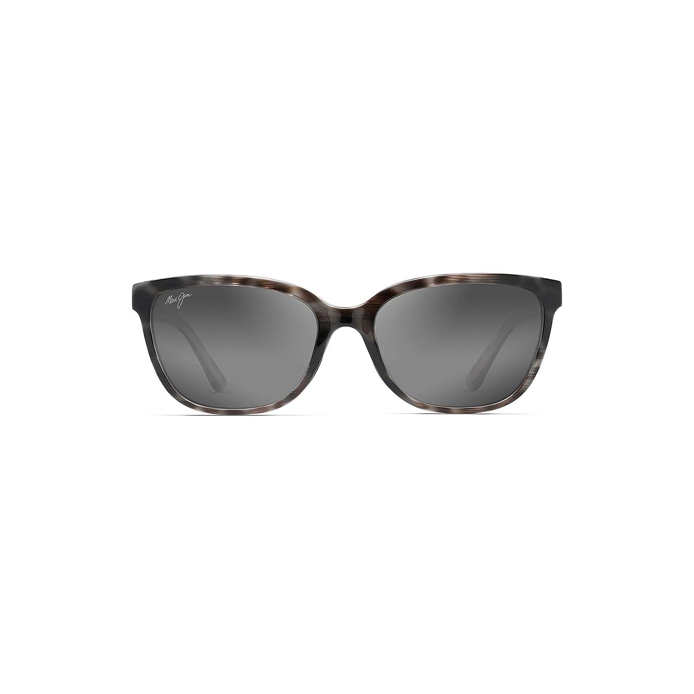 aecf451a764c Amazon.com: Maui Jim Honi GS758-11S | Polarized Grey Tortoise Stripe cateye  Frame Sunglasses, Neutral Lenses, with Patented PolarizedPlus2 Lens  Technology: ...