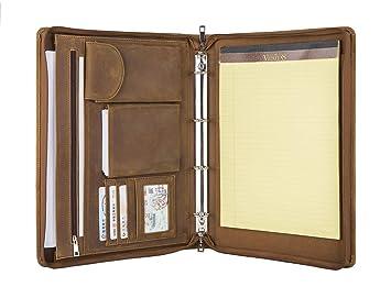 Organizer Mappe DIN-A4 Konferenzmappe Schreibmappe mit 9 Fächern /& Reißverschluß