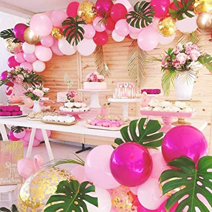 Amazon Girls Birthday Flamingo Garland Kit Balloon