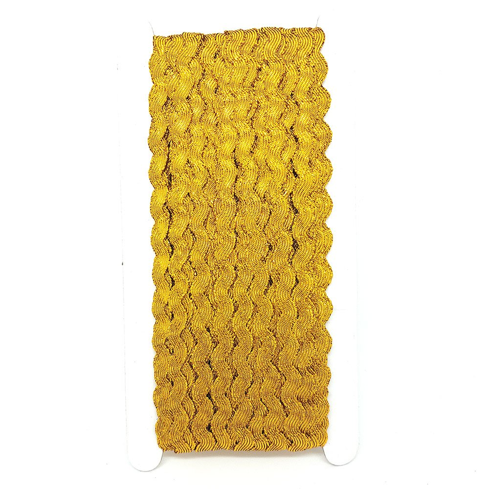 25/m rollo de Ric Rac M cinta ribete Ricrac elecci/ón de colores DIY costura guarnecido por accesorios /ático Coral
