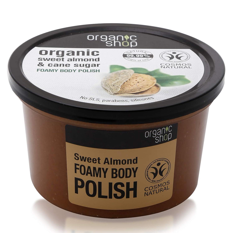 Organic Shop Almendra Dulce Exfoliante Corporal Espumoso - 250 ml: Amazon.es: Belleza
