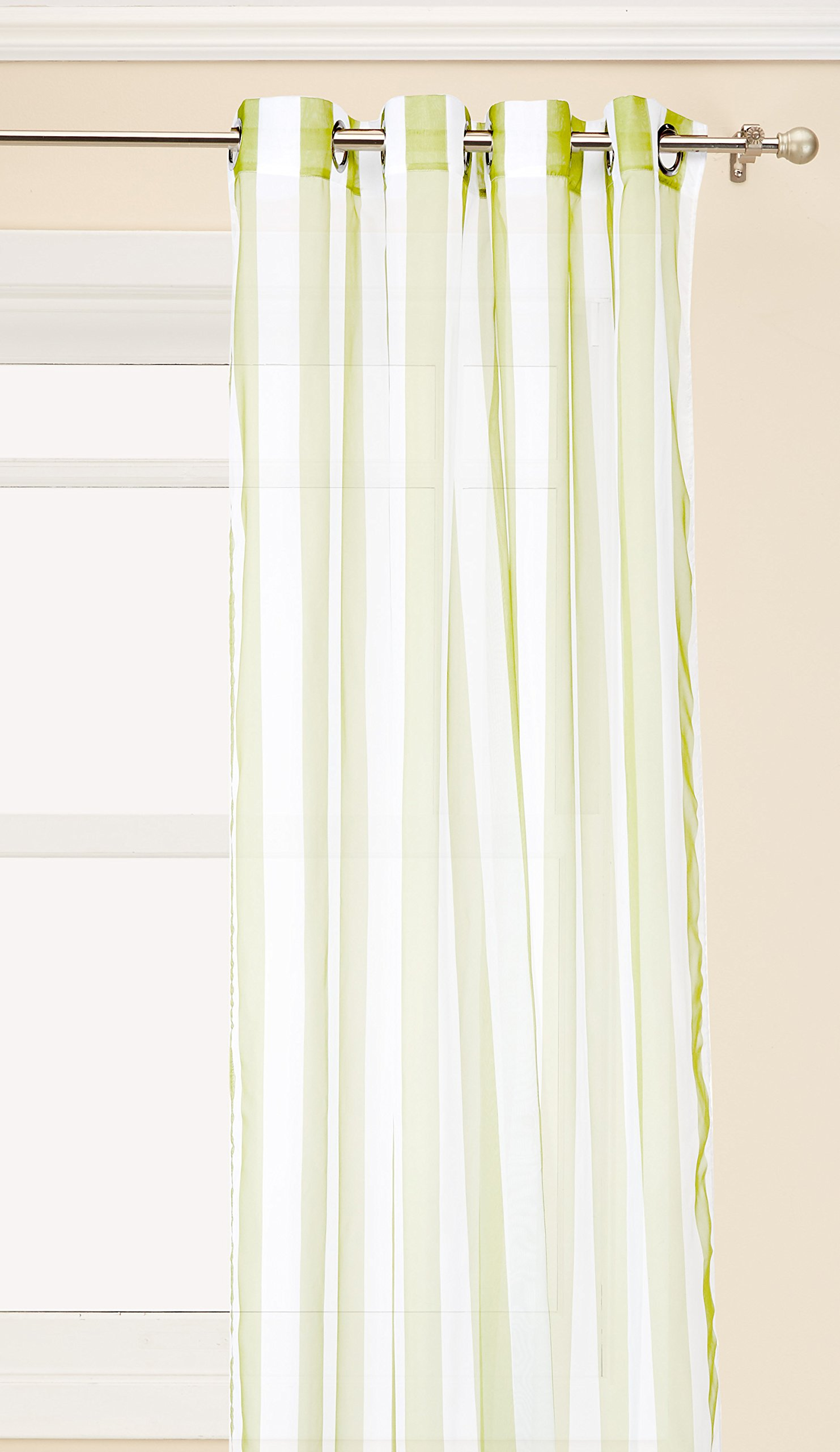 Outdoor Decor Escape stripe-84-green Green