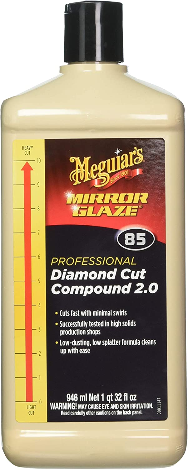 Meguiar's Mirror Glaze Diamond-Cut Compound 2.0 at Amazon