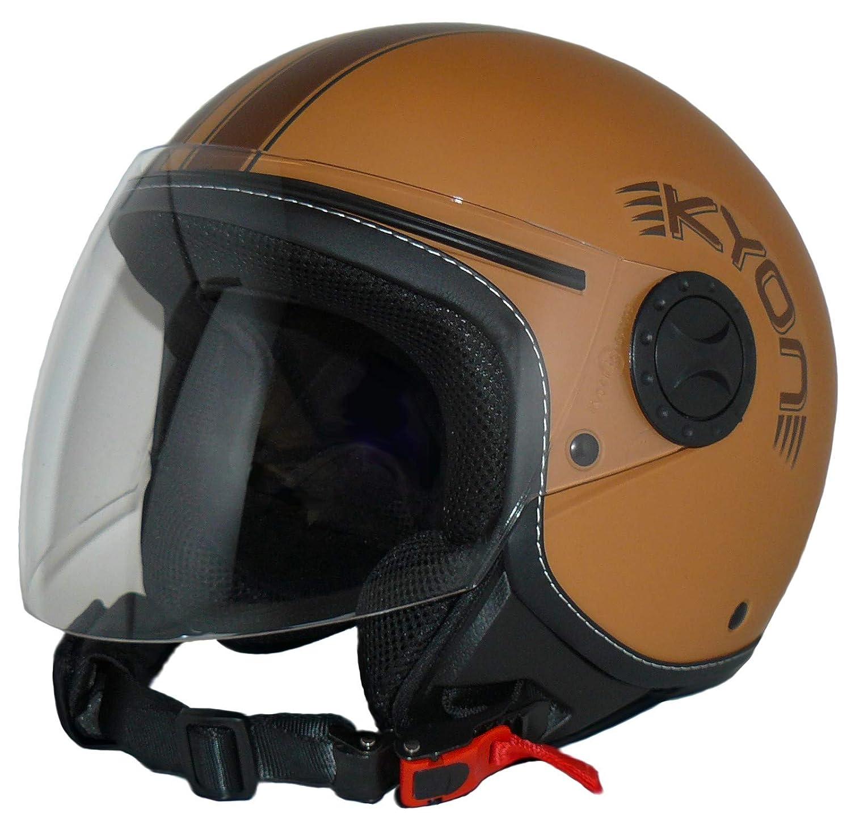 Protectwear Casco abierto con facial con visera larga h710-br-s