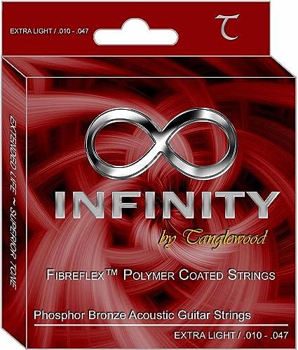 Cuerdas para guitarra acústica Tanglewood Infinity - Extra ligera ...