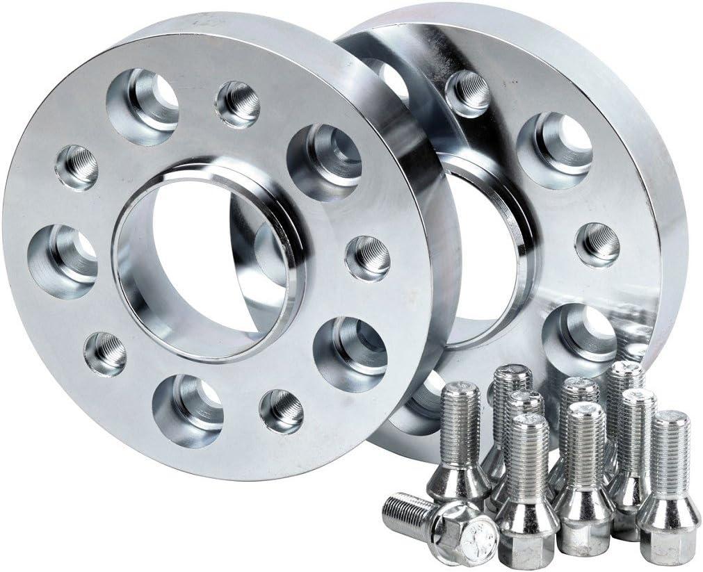 60mm pro Achse incl Teilegutachten Hofmann Spurverbreiterung Stahl 30mm pro Scheibe