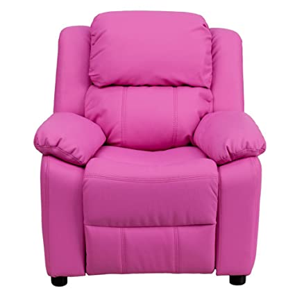 Amazoncom Kids Recliner Chair With Storage Children Toddler