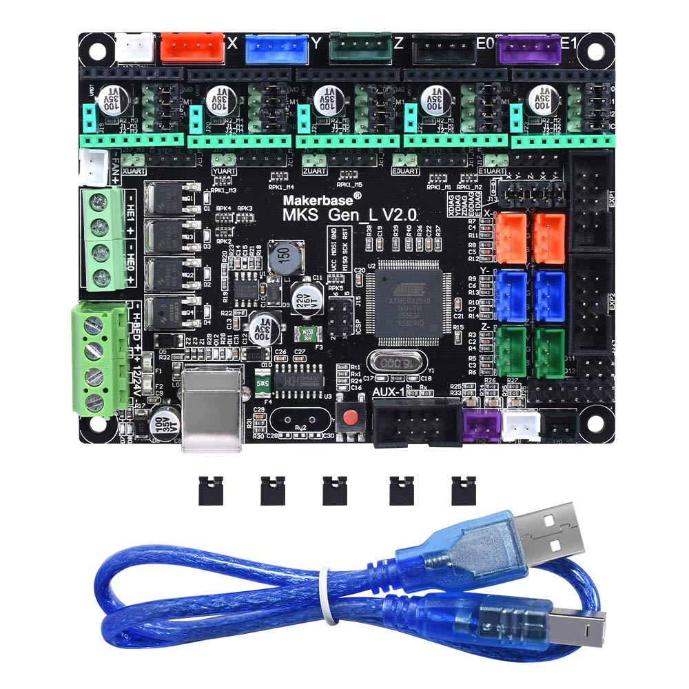 BIQU MKS Gen L V1.0 placa base integrada para impresora 3D A4988 ...