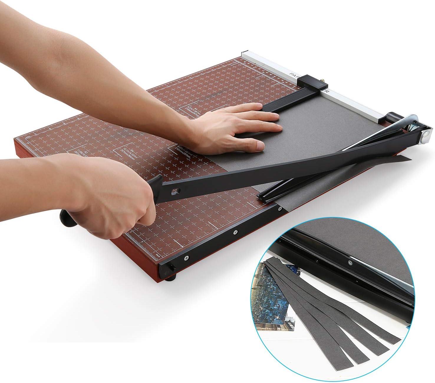 485 x 385mm Schnittl/änge 650mm A3 Papierschneider Fotoschneider Hebelschneider Papierschneidemaschine Schneideger/ät Schrottmaschineider aus Holz