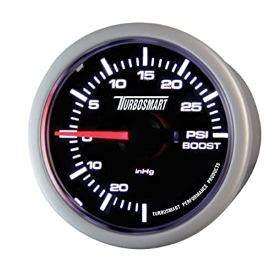 "Turbosmart TS-0101-2023 52 mm - 2-1/16"" 0-30 PSI Boost Gauge for Gated Boost Control Valves: Automotive"