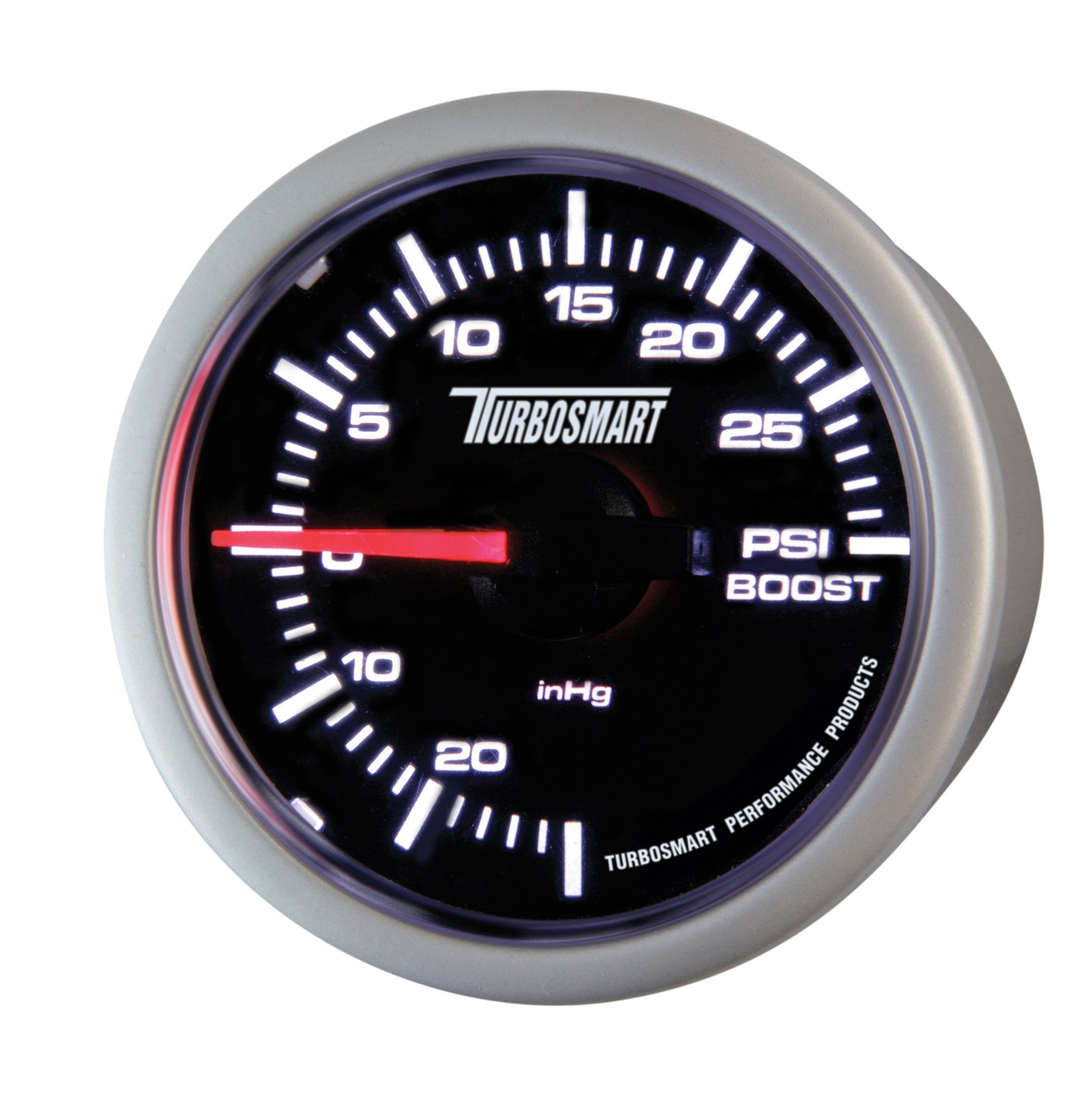 Turbosmart TS-0101-2023 52 mm - 2-1/16'' 0-30 PSI Boost Gauge for Gated Boost Control Valves