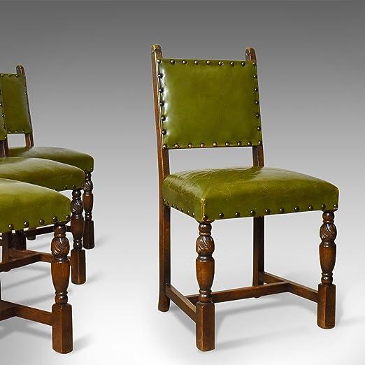 London Fine Antiques Conjunto de Cuatro sillas de Comedor ...
