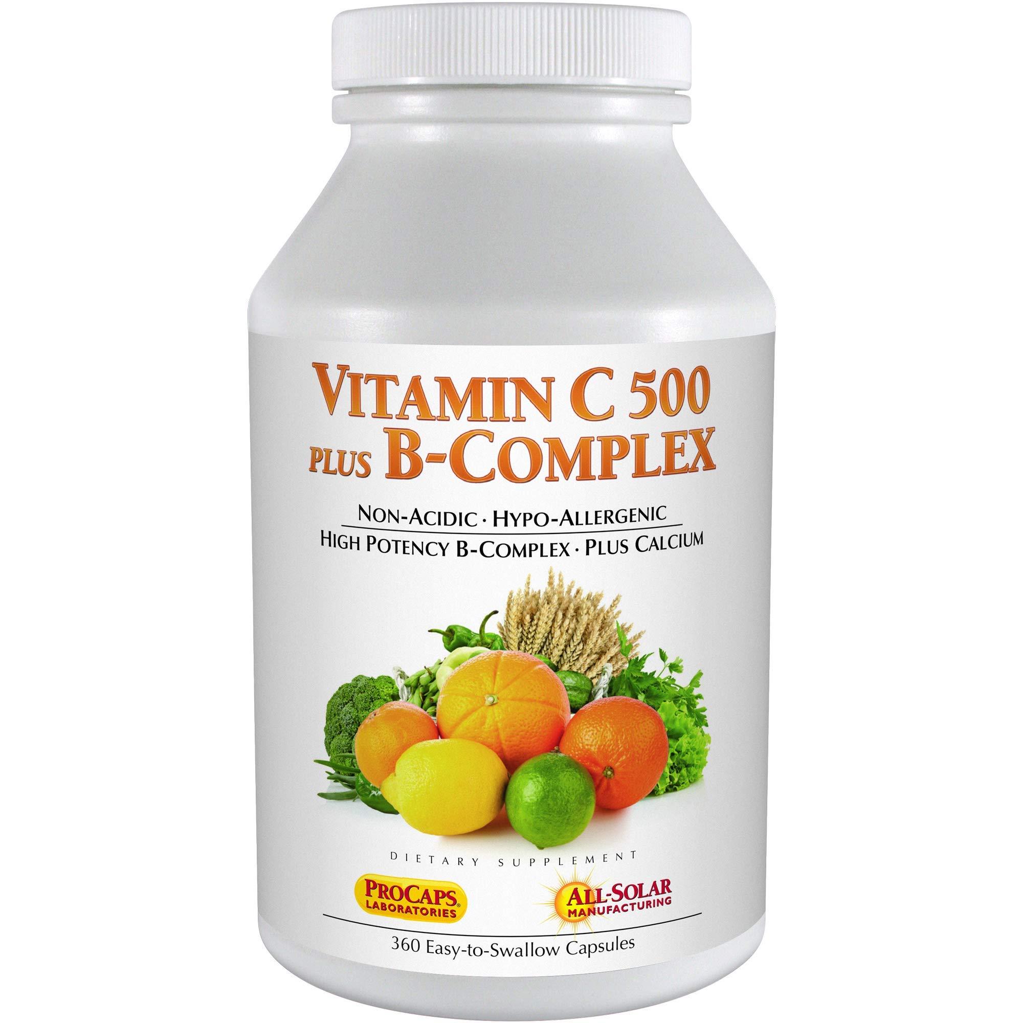 Andrew Lessman Vitamin C 500 Plus B-Complex, 360 Capsules by Andrew Lessman