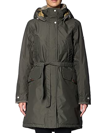 kodikas raikas verkkosivusto alennus uusin Didriksons Voyage Womens Waterproof Insulated Hooded Coat / Jacket