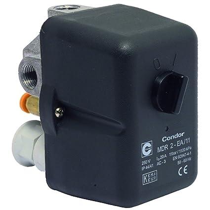 Elmag CONDOR MDR - Presostato (2/11 bar, 230 V)