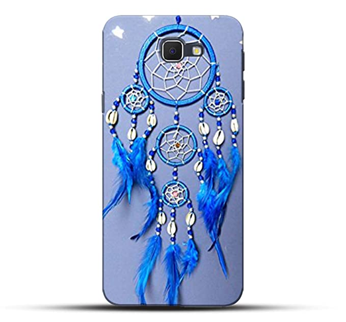 Pikkme Amazing Blue Color Dream Catchers Designer Printed Hard Back Case and Cover for Samsung Galaxy J5 Prime Cases   Covers