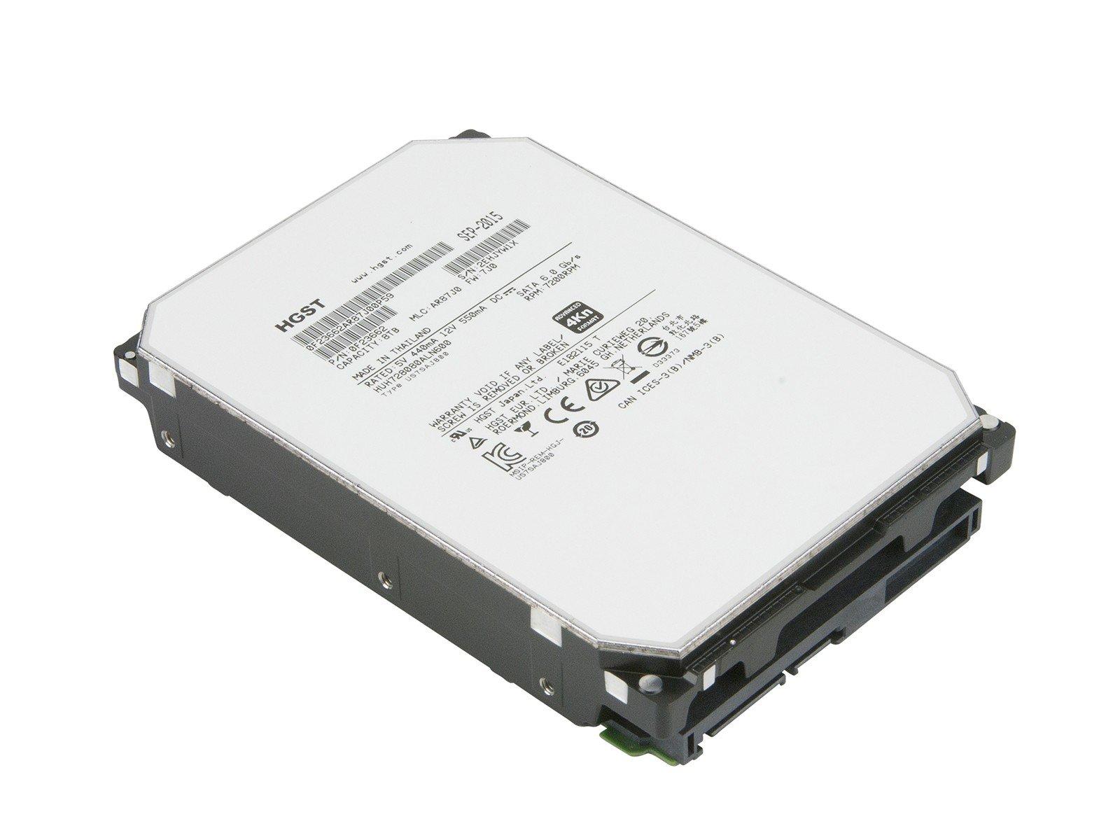 HGST HUH728080ALN600 8 TB 3.5'' Internal Hard Drive - SATA - 7200 rpm - 128 MB Buffer - 0F23662