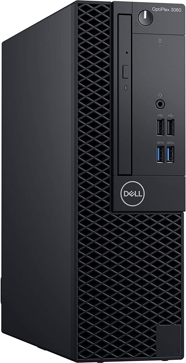 Dell OptiPlex 3060 SFF Desktop Computer with Intel Core i5-8500 3 GHz Hexa-Core, 8GB RAM, 1TB HDD (N3D07)