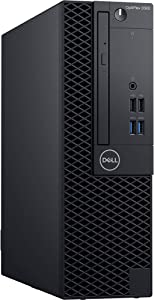 Dell OptiPlex 3060 SFF Desktop Computer with Intel Core i5-8500 3 GHz Hexa-Core, 8GB RAM, 128GB SSD (KN6RG)