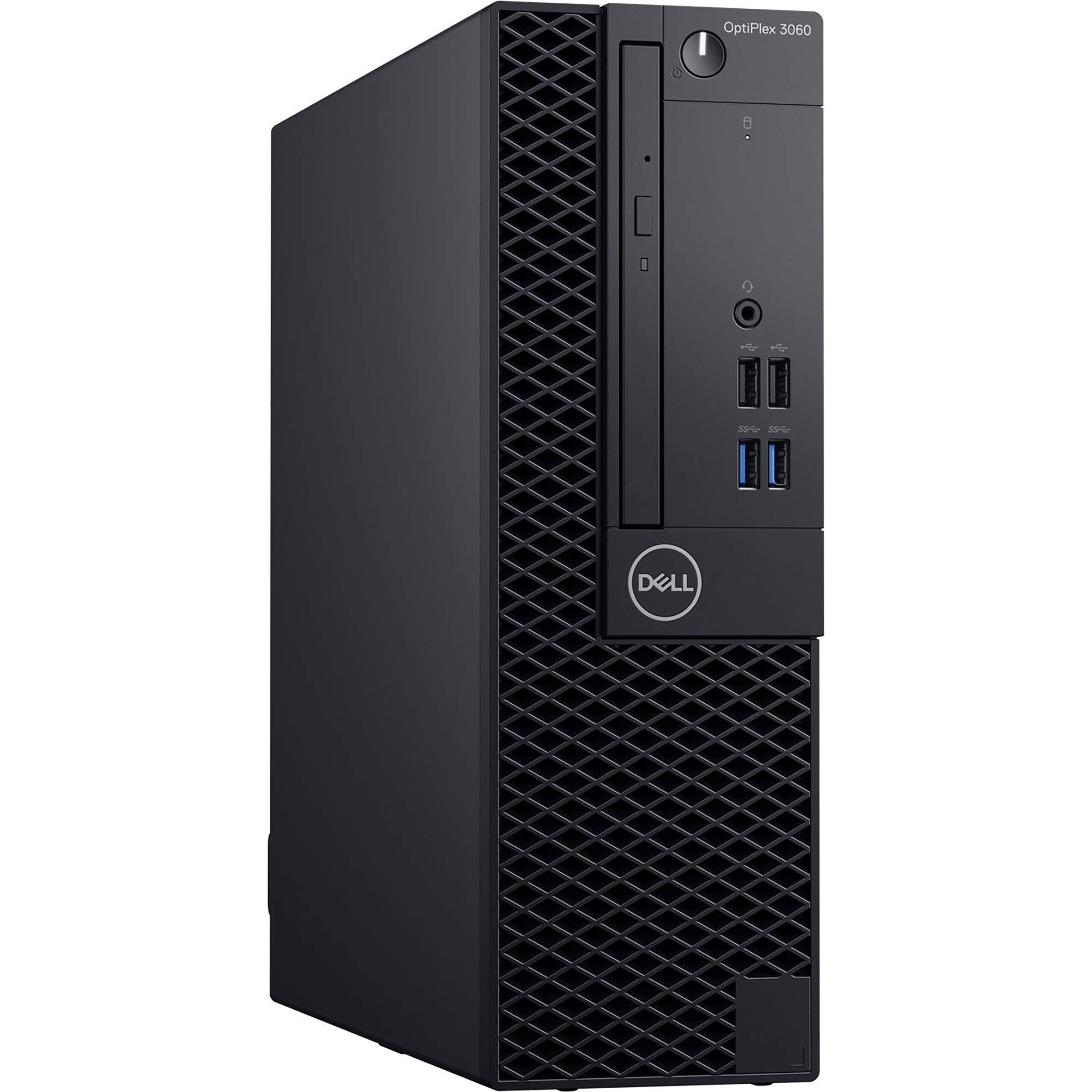 Dell OptiPlex 3060 SFF Desktop Computer with Intel Core i5-8500 3 GHz Hexa-core, 8GB RAM, 256GB SSD (KM82W)