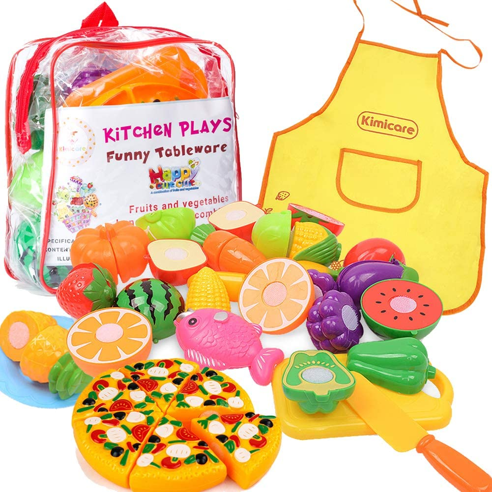 10pcs Mini simulation Fruits Vegetables Kitchen Toys Kid Pretend Play toy />CYCA