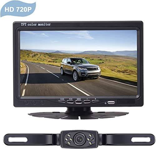 LeeKooLuu HD 720P Wireless Backup Camera System