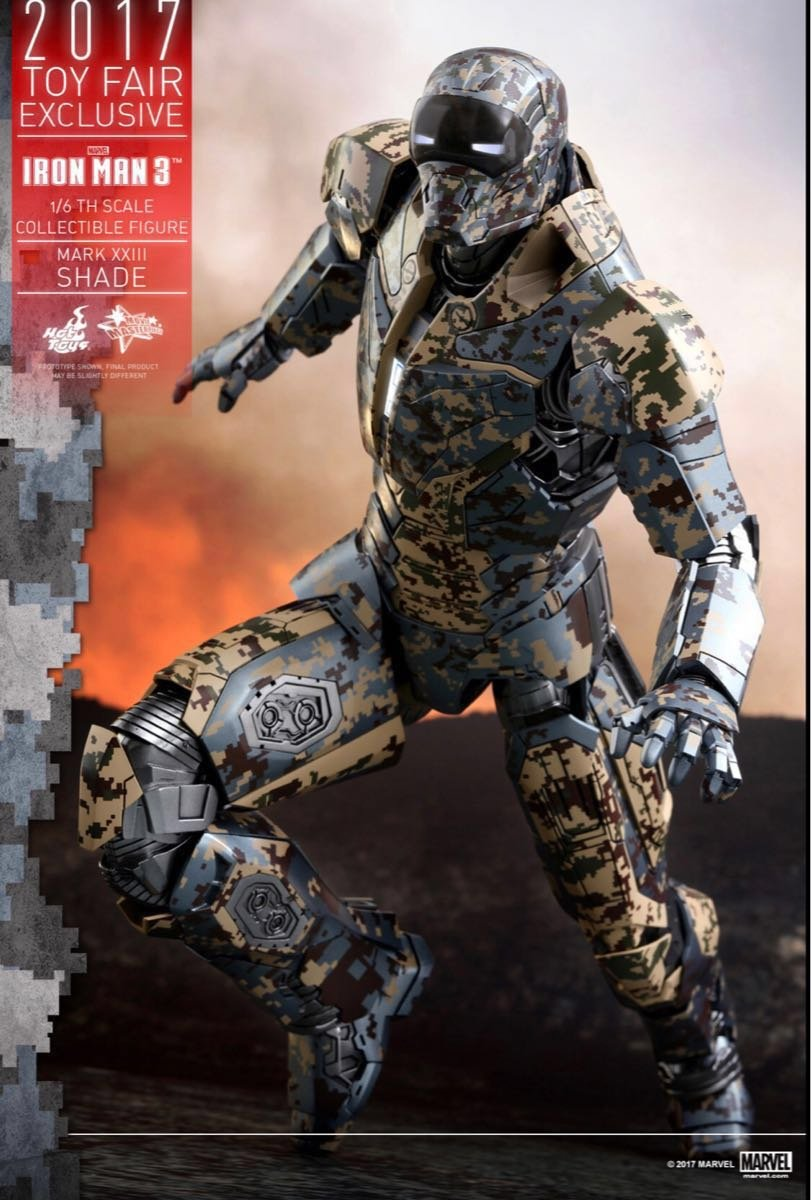 ホットトイズ ムービーマスターピース アイアンマン3 1 6スケールフィギュア アイアンマンマーク23 シェイズ B07DZ3CKGF
