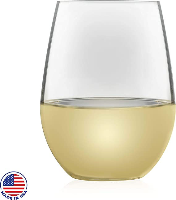 Libbey Signature Kentfield Estate All-Purpose Stemless Wine Glasses