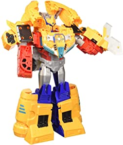 """Transformers Toys Cyberverse Spark Armor Ark Power Optimus Prime Action Figure - Combines with Ark Power Vehicle to Power Up - for Kids Ages 6 & Up, 12"""""""