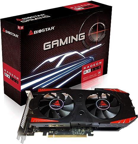 Amazon.com: Biostar OC Gaming Radeon RX 560 4GB GDDR5 128 ...