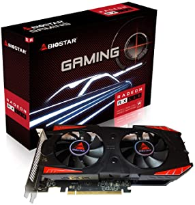 Biostar OC Gaming Radeon RX 560 4GB GDDR5 128-Bit DirectX 12 PCI Express 3.0 x16, DVI-D Dual Link, HDMI, DisplayPort and Vortex Dual Cooling Fan