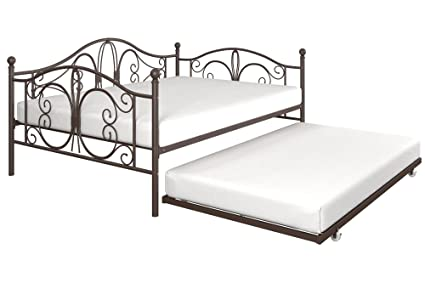 Amazoncom Dhp Bombay Full Size Metal Daybed Frame With Twin Size