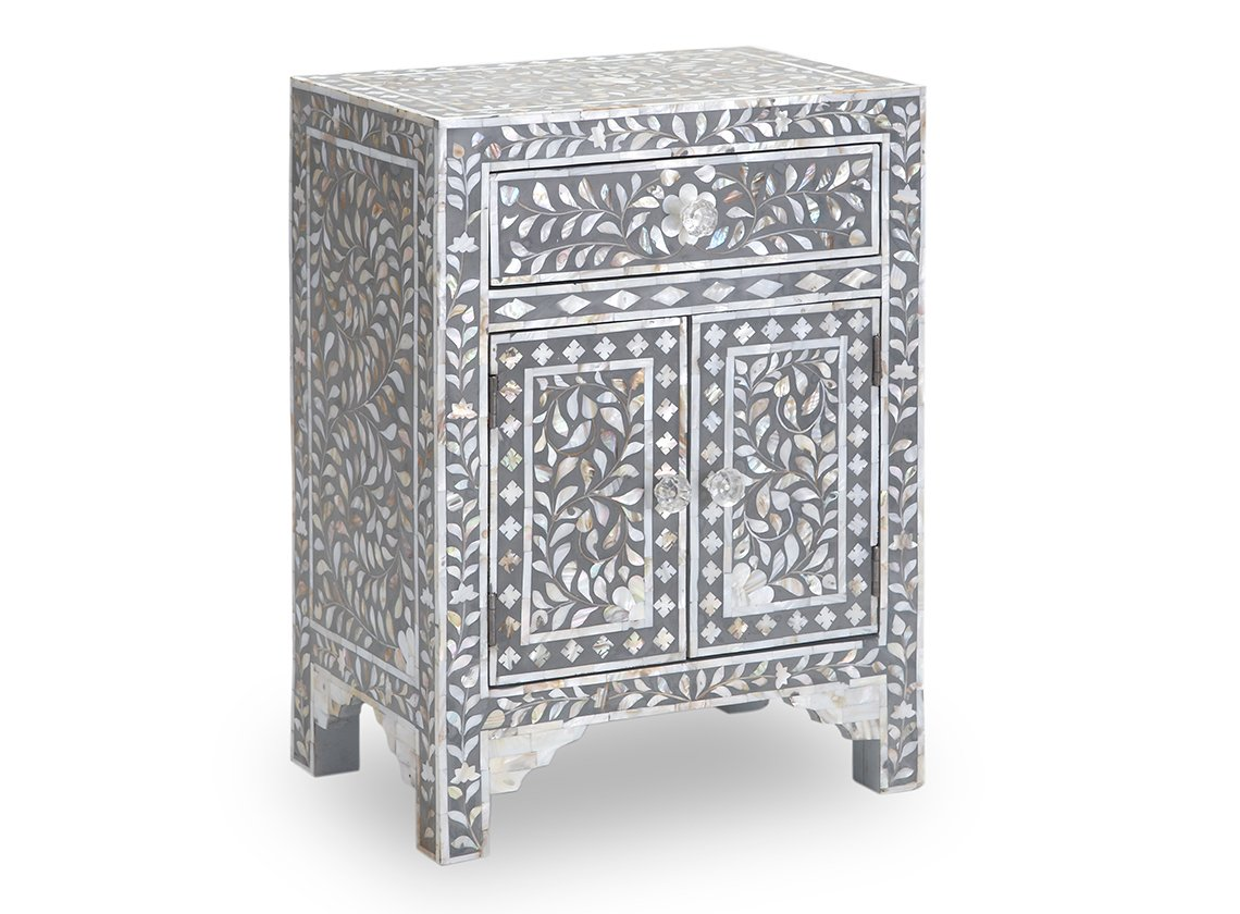 Amazon mother of pearl inlay bedside table in grey kitchen amazon mother of pearl inlay bedside table in grey kitchen dining geotapseo Image collections