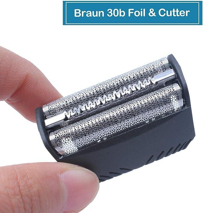 30B Cabezales de Afeitado para Braun Afeitadora Eléctrica Hombre ...