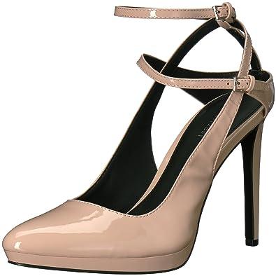 2c4e992b211 Calvin Klein Women s Shawna Platform Pink 7.5 Medium US