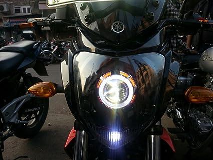 Spidy Moto Projector Headlight Yamaha FZ-s: Amazon in: Car