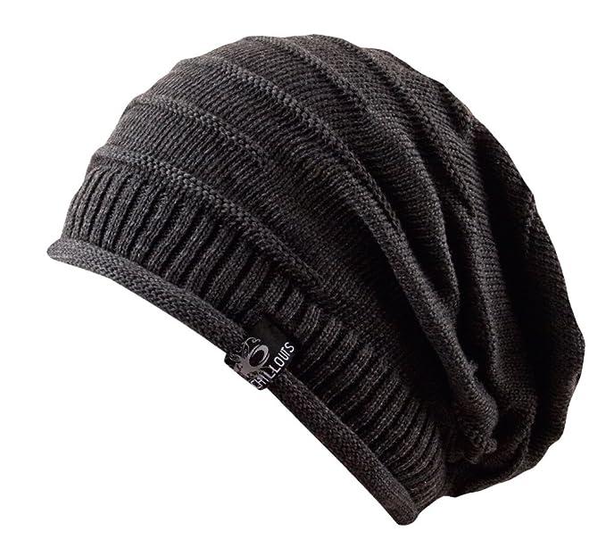Feinzwirn leichte Long Beanie oversize berretto in 100% cotone - Uomo e  Donna Berretto Unisex 0fa5786ecfac