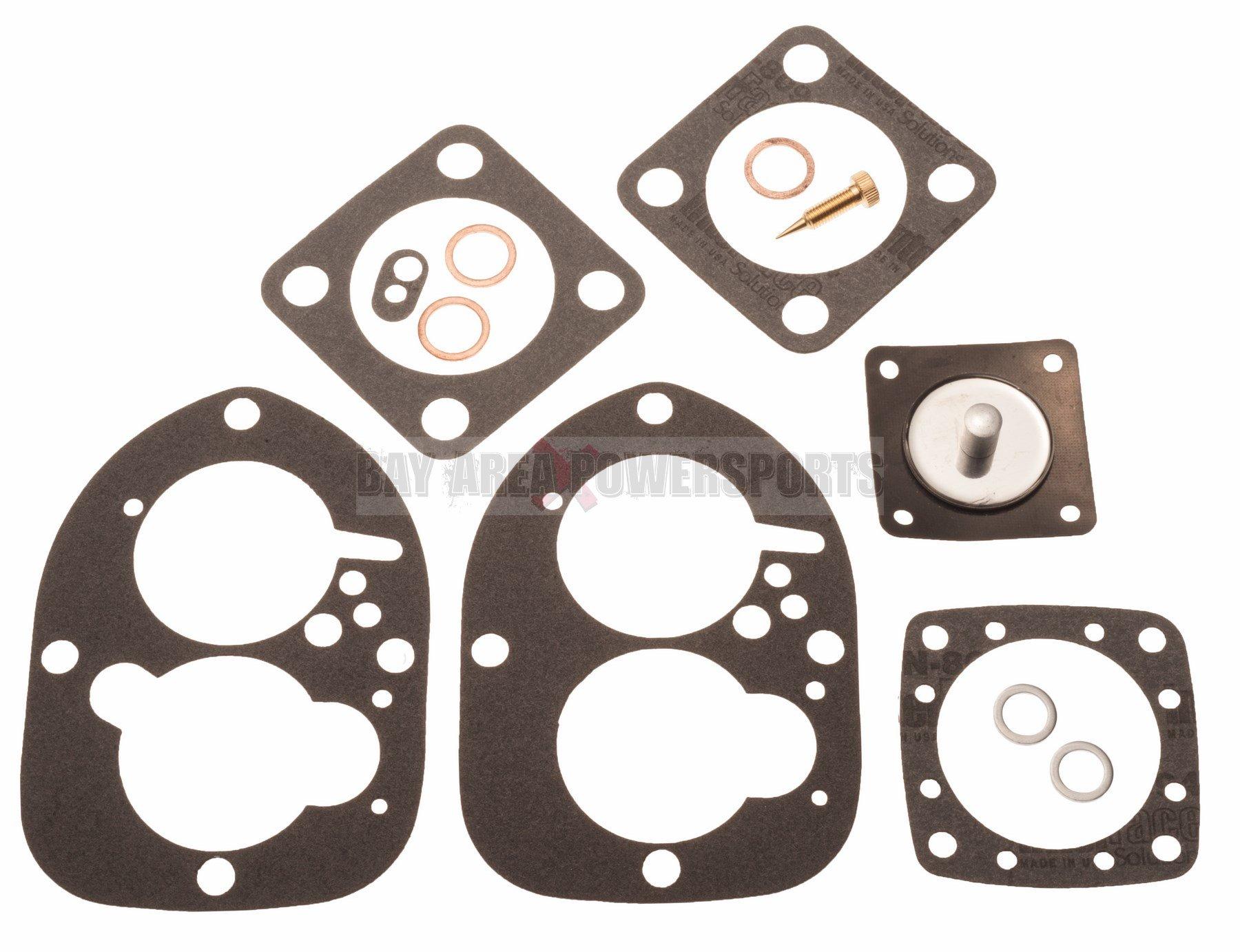 Carburetor Carb Rebuild Kit Volvo Penta 856471 856472 834527 AQ BB 115 125 130
