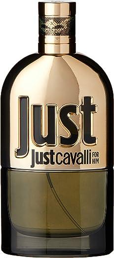 عطر جست كافالي جولد من روبيرتو كافالي للرجال – او دي بارفان، 90 مل