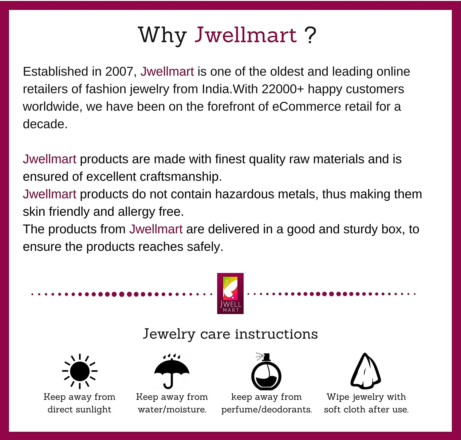 Jwellmart Indian Designer Bollywood CZ Chandbali Partywear Padmavati Dangle Earrings for Women and Girls