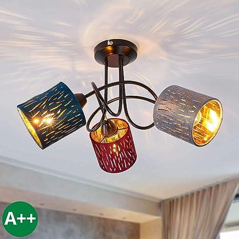 Lampenwelt Deckenlampe \'Jules\' dimmbar (Für Kinder, Junges ...